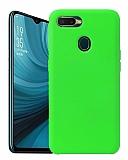 Eiroo Lansman Oppo AX7 / Oppo A5s Yeşil Silikon Kılıf