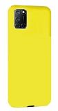 Eiroo Lansman Oppo A92 Sarı Silikon Kılıf