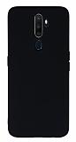 Eiroo Lansman Oppo Reno A5 2020 Siyah Silikon Kılıf