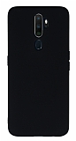 Eiroo Lansman Oppo Reno A9 2020 Siyah Silikon Kılıf