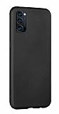 Eiroo Lansman Oppo Reno4 Siyah Silikon Kılıf