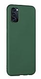 Eiroo Lansman Oppo Reno4 Koyu Yeşil Silikon Kılıf