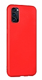 Eiroo Lansman Oppo Reno4 Kırmızı Silikon Kılıf