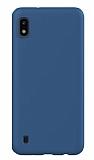 Eiroo Lansman Samsung Galaxy A10 Lacivert Silikon Kılıf