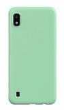 Eiroo Lansman Samsung Galaxy A10 Yeşil Silikon Kılıf