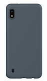 Eiroo Lansman Samsung Galaxy A10 Gri Silikon Kılıf