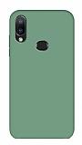 Eiroo Lansman Samsung Galaxy A20S Koyu Yeşil Silikon Kılıf