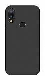 Eiroo Lansman Samsung Galaxy A20S Siyah Silikon Kılıf