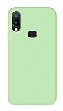 Eiroo Lansman Samsung Galaxy A20S Yeşil Silikon Kılıf