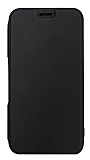 Eiroo Lansman Samsung Galaxy A50 Silikon Kapaklı Siyah Kılıf