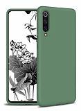 Eiroo Lansman Samsung Galaxy A50 Koyu Yeşil Silikon Kılıf