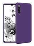 Eiroo Lansman Samsung Galaxy A50S Mor Silikon Kılıf