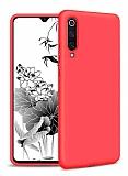 Eiroo Lansman Samsung Galaxy A50S Kırmızı Silikon Kılıf