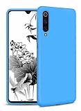 Eiroo Lansman Samsung Galaxy A70 Mavi Silikon Kılıf