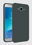 Eiroo Lansman Samsung Galaxy Grand Prime / Prime Plus Gri Silikon Kılıf