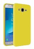 Eiroo Lansman Samsung Galaxy Grand Prime / Prime Plus Sarı Silikon Kılıf