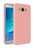 Eiroo Lansman Samsung Galaxy Grand Prime / Prime Plus Pembe Silikon Kılıf