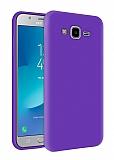 Eiroo Lansman Samsung Galaxy Grand Prime / Prime Plus Mor Silikon Kılıf