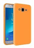 Eiroo Lansman Samsung Galaxy Grand Prime / Prime Plus Turuncu Silikon Kılıf