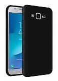 Eiroo Lansman Samsung Galaxy Grand Prime / Prime Plus Siyah Silikon Kılıf