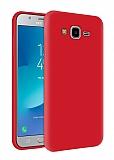 Eiroo Lansman Samsung Galaxy Grand Prime / Prime Plus Kırmızı Silikon Kılıf