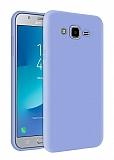 Eiroo Lansman Samsung Galaxy Grand Prime / Prime Plus Lila Silikon Kılıf