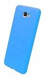 Eiroo Lansman Samsung Galaxy J7 Prime / Prime 2 Mavi Silikon Kılıf