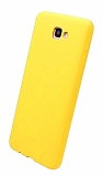 Eiroo Lansman Samsung Galaxy J7 Prime / Prime 2 Sarı Silikon Kılıf