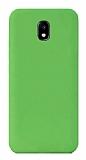Eiroo Lansman Samsung Galaxy J7 Pro 2017 Yeşil Silikon Kılıf