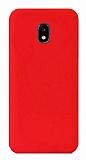 Eiroo Lansman Samsung Galaxy J7 Pro 2017 Kırmızı Silikon Kılıf