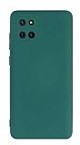 Eiroo Lansman Samsung Galaxy Note 10 Lite Kamera Korumalı Yeşil Silikon Kılıf
