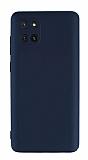 Eiroo Lansman Samsung Galaxy Note 10 Lite Kamera Korumalı Siyah Silikon Kılıf