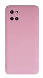 Eiroo Lansman Samsung Galaxy Note 10 Lite Kamera Korumalı Pembe Silikon Kılıf