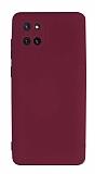 Eiroo Lansman Samsung Galaxy Note 10 Lite Kamera Korumalı Mor Silikon Kılıf
