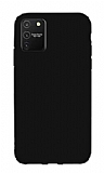 Eiroo Lansman Samsung Galaxy S10 Lite Siyah Silikon Kılıf