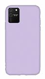 Eiroo Lansman Samsung Galaxy S10 Lite Lila Silikon Kılıf