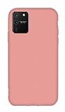 Eiroo Lansman Samsung Galaxy S10 Lite Pembe Silikon Kılıf