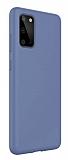 Eiroo Lansman Samsung Galaxy S20 Plus Mor Silikon Kılıf