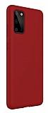 Eiroo Lansman Samsung Galaxy S20 Bordo Silikon Kılıf