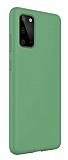 Eiroo Lansman Samsung Galaxy S20 Yeşil Silikon Kılıf