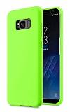 Eiroo Lansman Samsung Galaxy S8 Plus Yeşil Silikon Kılıf