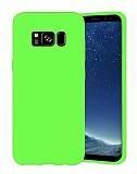 Eiroo Lansman Samsung Galaxy S8 Yeşil Silikon Kılıf