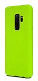 Eiroo Lansman Samsung Galaxy S9 Plus Yeşil Silikon Kılıf