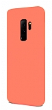 Eiroo Lansman Samsung Galaxy S9 Plus Turuncu Silikon Kılıf
