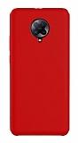 Eiroo Lansman Xiaomi K30 Pro Kırmızı Silikon Kılıf