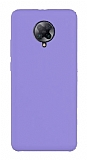 Eiroo Lansman Xiaomi K30 Pro Lila Silikon Kılıf