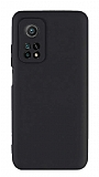Eiroo Lansman Xiaomi Mi 10T Pro 5G Kamera Korumalı Siyah Silikon Kılıf