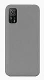 Eiroo Lansman Xiaomi Mi 10T Pro 5G Gri Silikon Kılıf