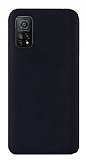 Eiroo Lansman Xiaomi Mi 10T Pro 5G Siyah Silikon Kılıf