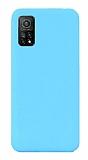 Eiroo Lansman Xiaomi Mi 10T Pro 5G Mavi Silikon Kılıf